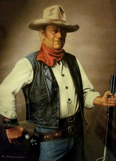 John Wayne, Icon of White, 'Historical' America