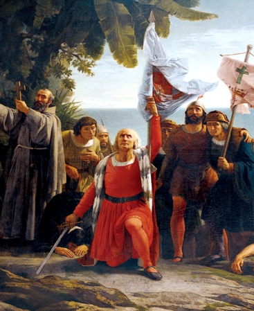 Christopher Columbus, Discoverer of America